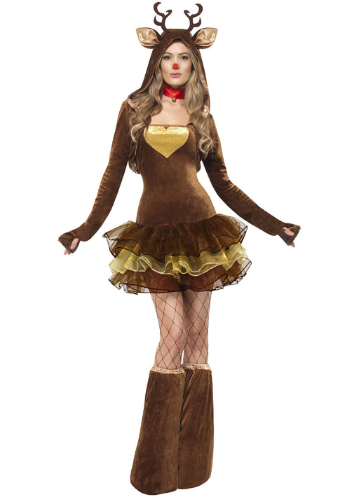 Fever Reindeer Tutu Costume Adult