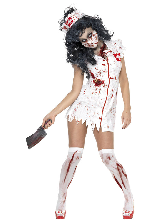 Zombie Nurse Costume Adult