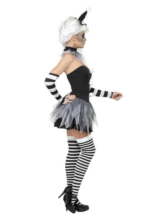 Sinister Pierrot Costume Adult