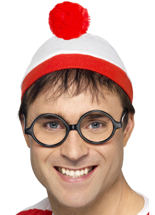 Where's Wally Hat & Glasses