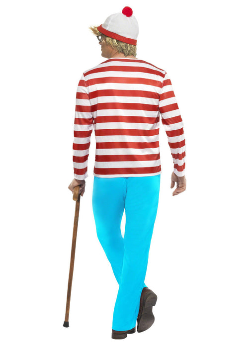 Where's Wally Fancy Dress Costume Adult