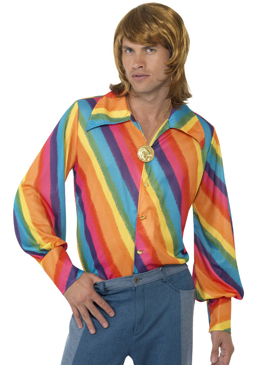 70's Rainbow Shirt Adult