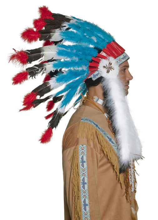 Western Authentic Indian Headdress