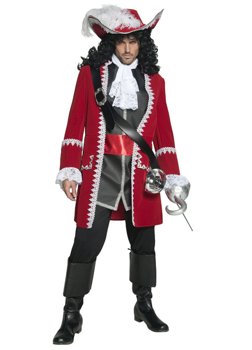Authentic Pirate Captain Costume Adult