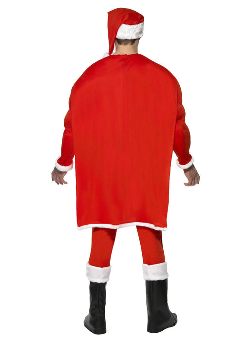 Super Fit Santa Costume Adult