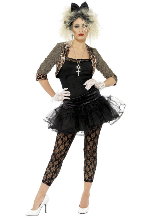 80's Wild Child Madonna Fancy Dress Adult