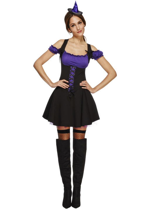 Fever Wicked Witch Purple Adult