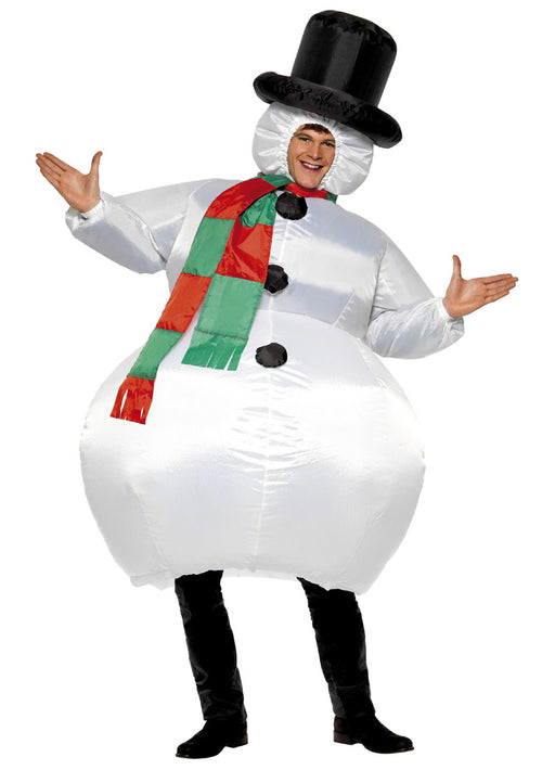 Inflatable Snowman Costume Adult