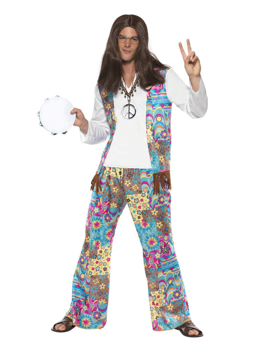 Groovy Hippie Costume Adult
