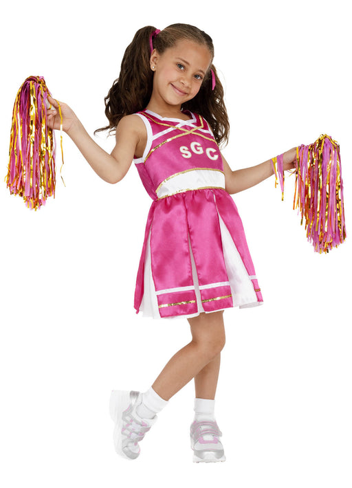 Pink Cheerleader Costume Child
