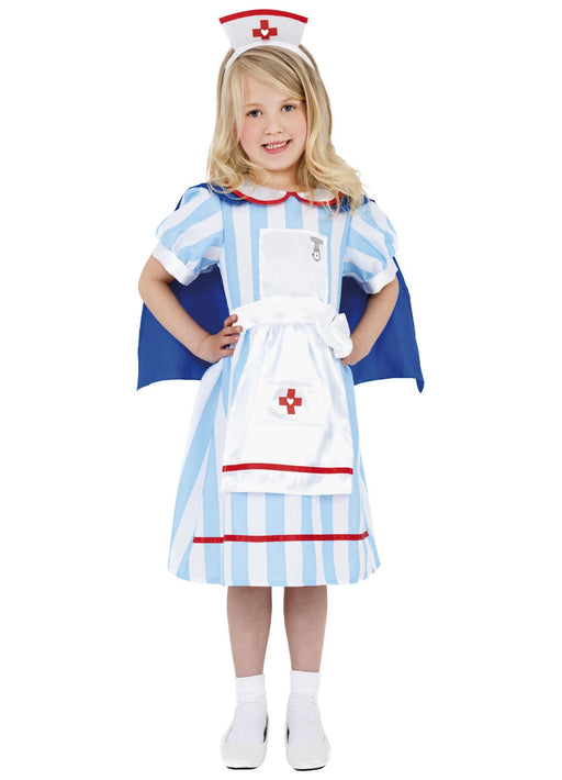 Vintage Nurse Costume Child