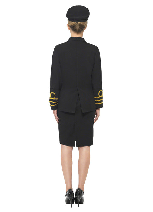 Navy Lady Officer Costume Adult