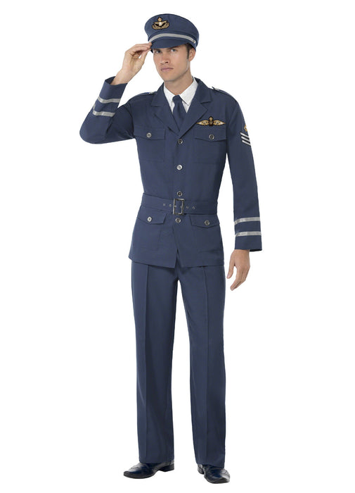 Air Force Male Captain Costume Adult