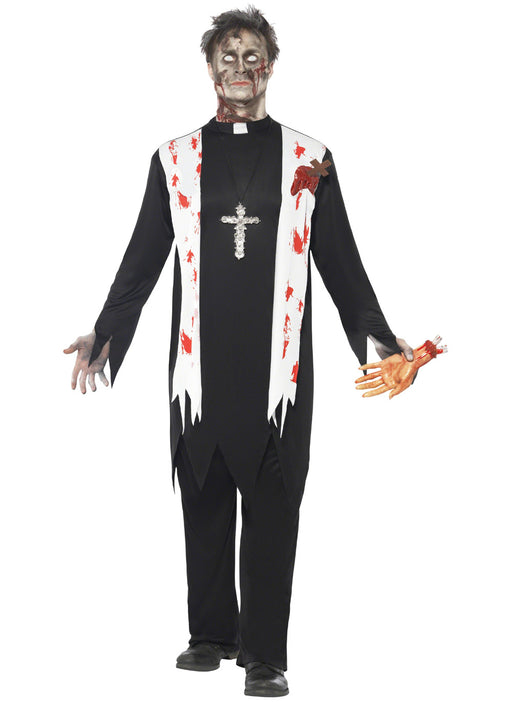 Zombie Priest Costume Adult