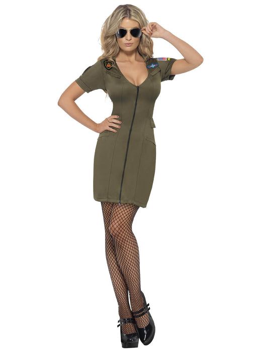 Sexy Top Gun Dress Adult