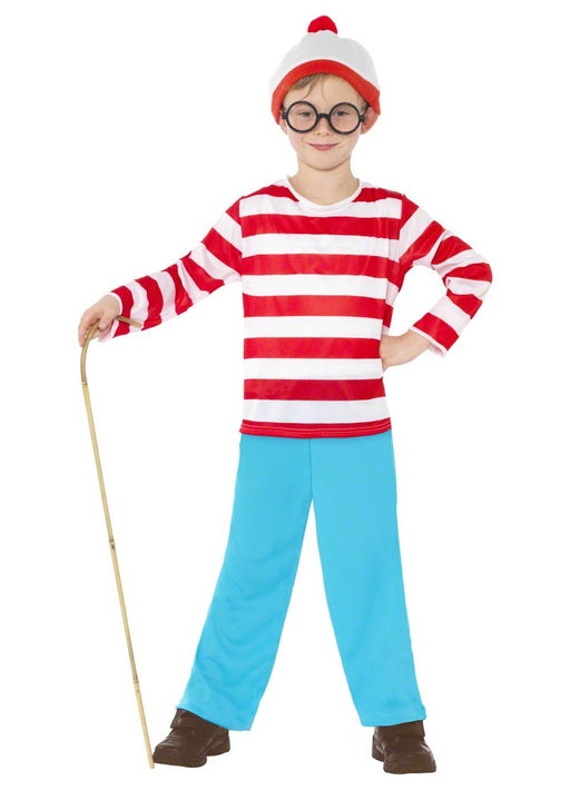 Where's Wally Boy Costume Child