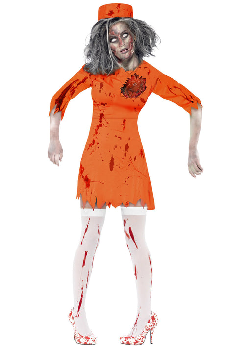 Zombie Death Row Diva Costume Adult
