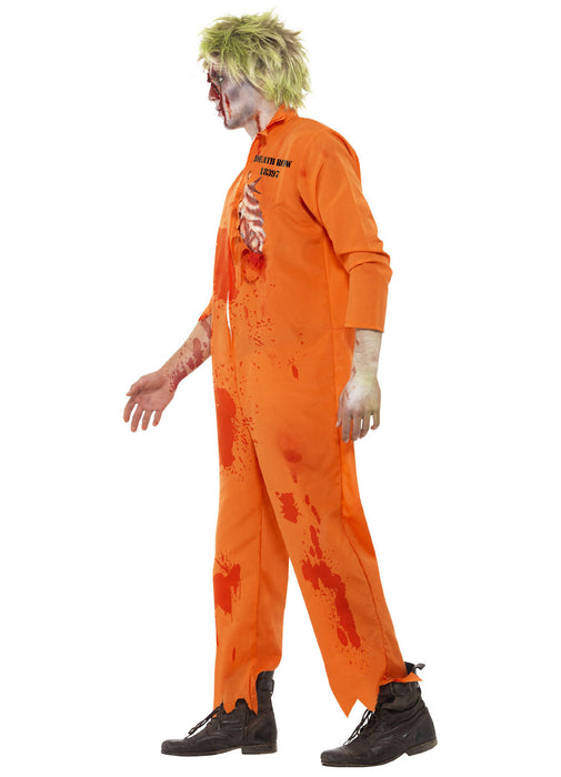 Zombie Death Row Inmate Costume Adult