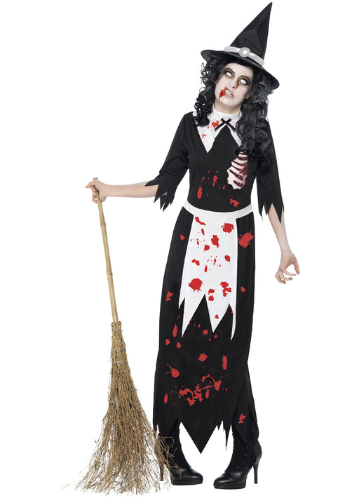 Zombie Authentic Salem Witch Costume Adult