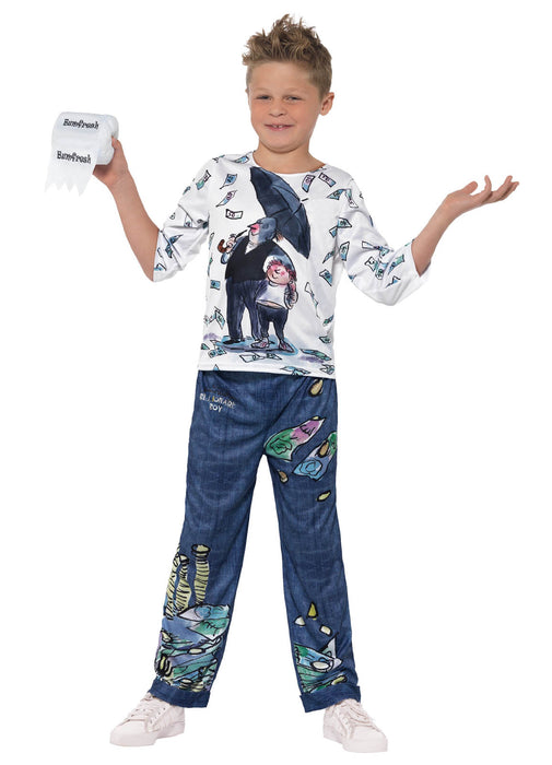 David Walliams Billionaire Boy Costume Child