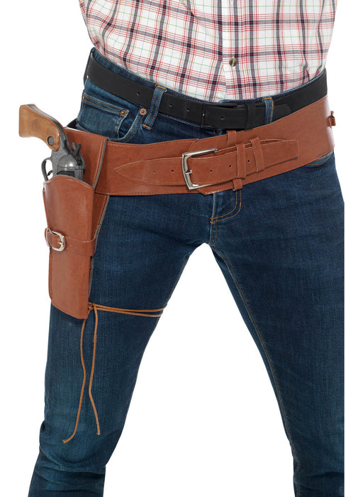 Brown Holster with Belt