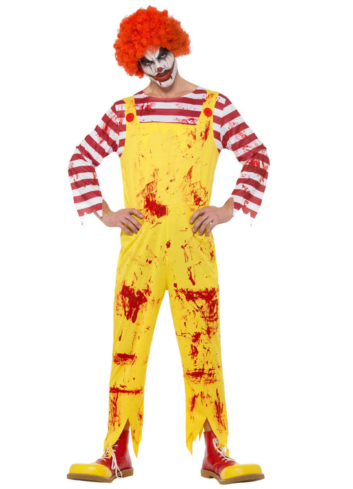 Kreepy Killer Clown Costume Adult