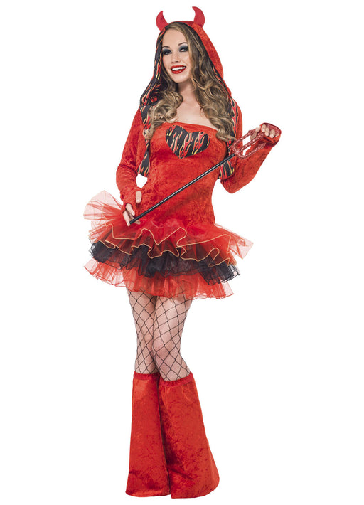 Fever Devil Tutu Dress Adult