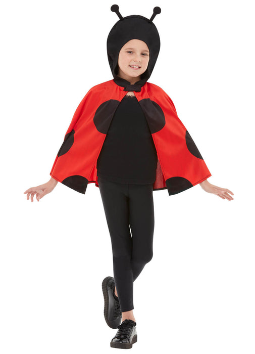 Ladybird Hooded Cape Child