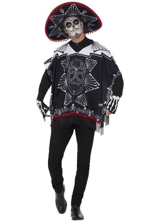 Day Of The Dead Bandit Costume Adult