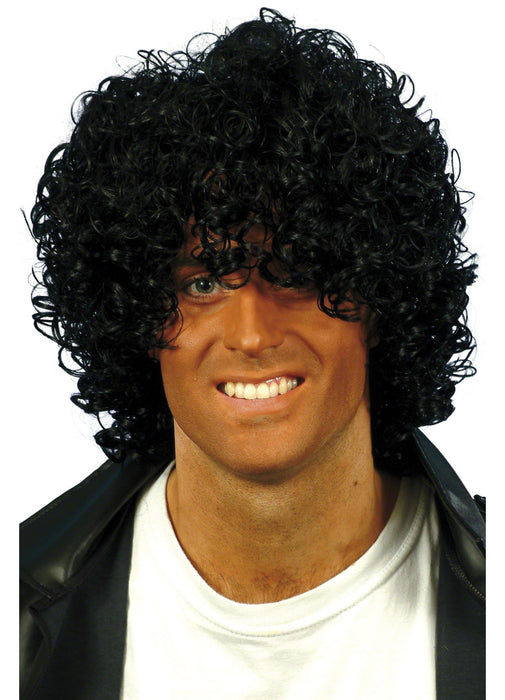 Black Afro Wet Look Wig