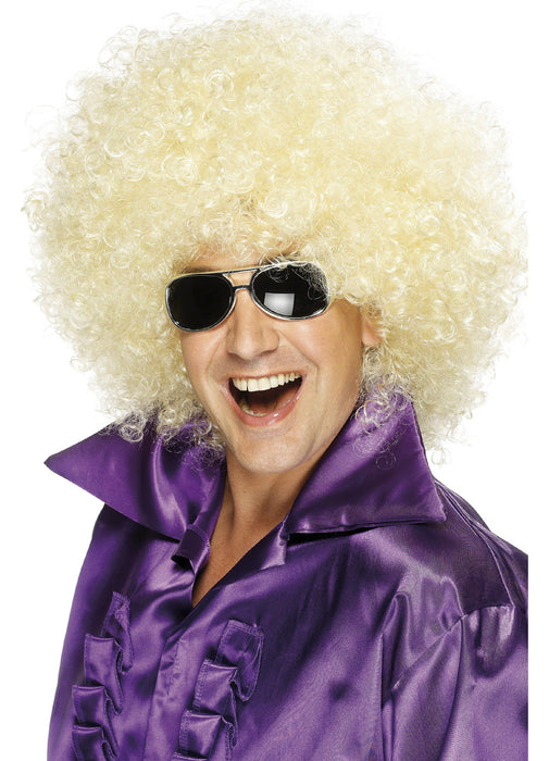 Blonde Mega Huge Afro Wig