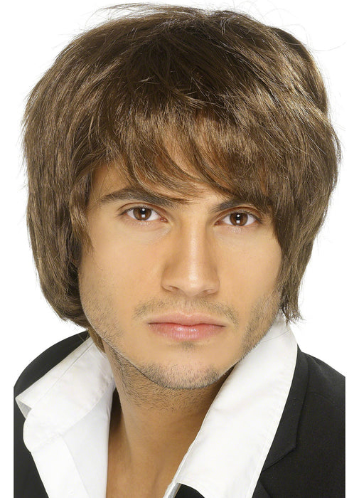Boy Band Brown Wig