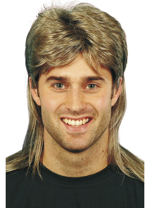 80's Style Jason Mullet Wig