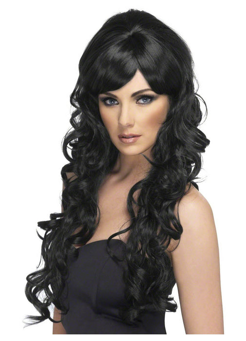 Black Pop Starlet Wig