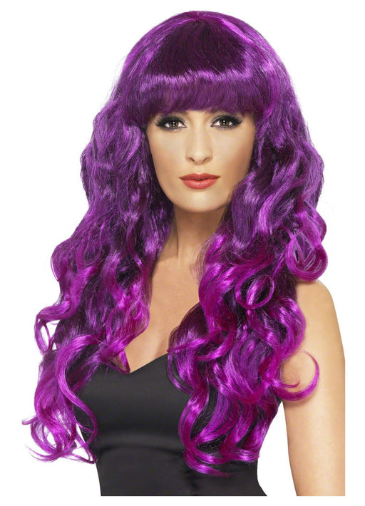 Siren Wig Purple & Black