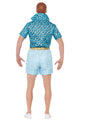 Licensed Barbie Ken Costume Adult