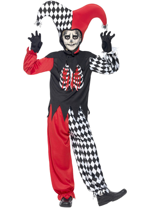 Blood Curdling Jester Costume Child