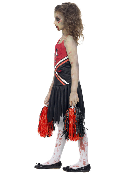 Zombie Cheerleader Costume Child