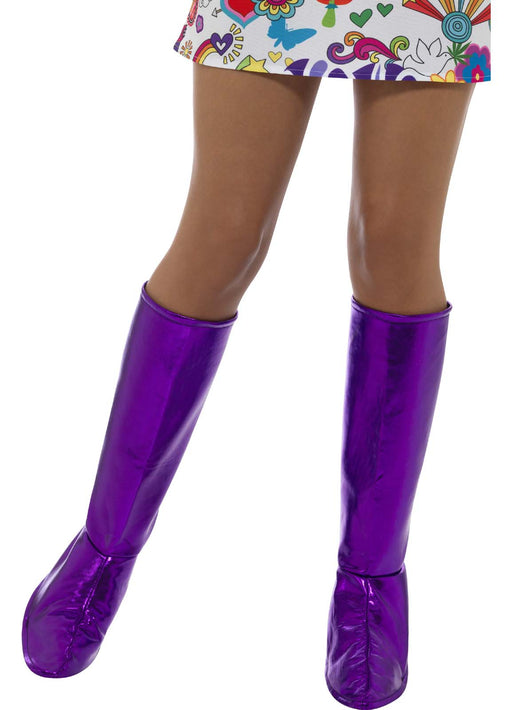 Purple GoGo Boot Covers
