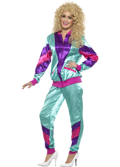 80's Height of Fashion Shell Suit Adult