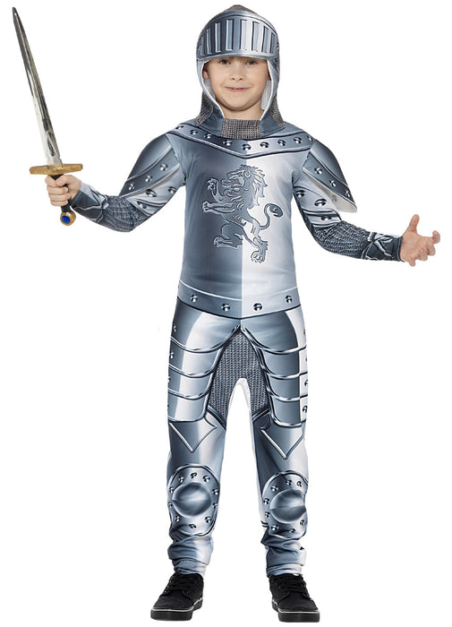 Armoured Knight Costume Child