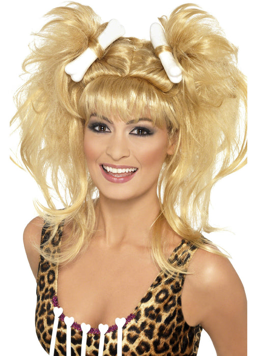 Cavegirl Bunches Wig Adult