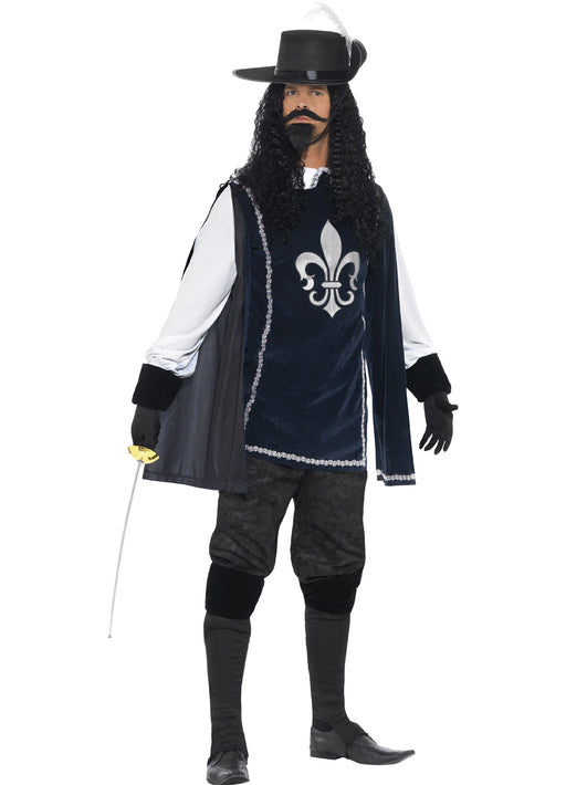 Musketeer Male Costume Adult