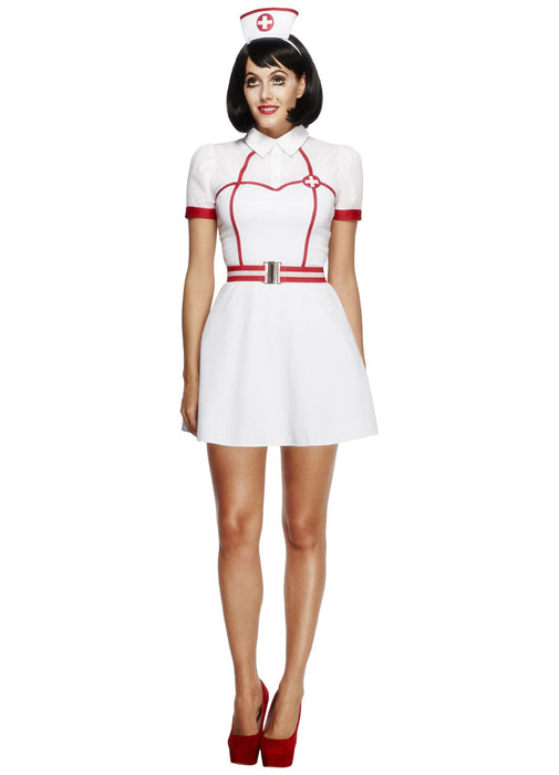 Fever Bed Side Nurse Costume Adult
