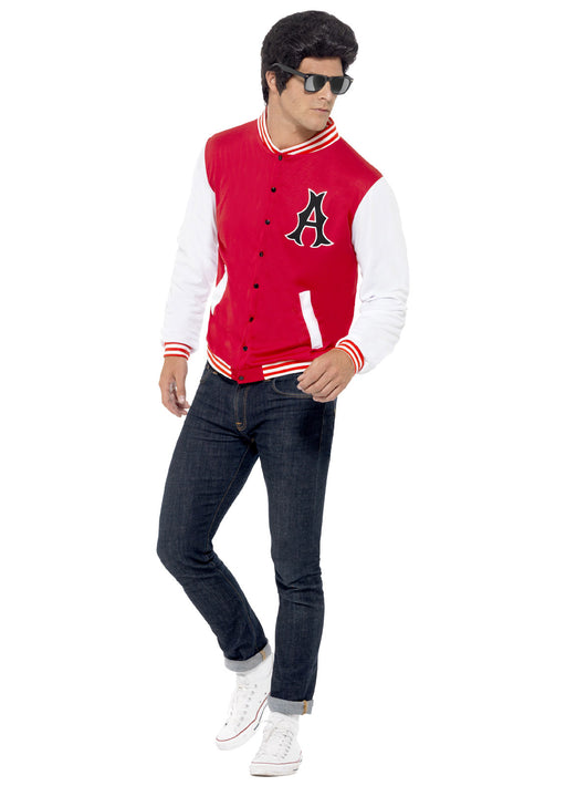 50's College Jock Letterman Jacket Adult