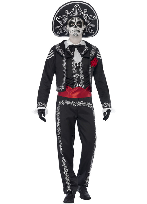 Senor Bones Costume Adult