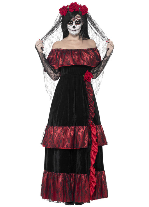 Day Of The Dead Bride Costume Adult