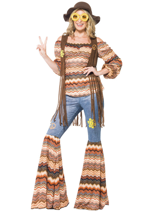 Harmony Hippie Costume Adult