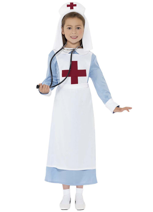 WW1 Nurse Costume Child