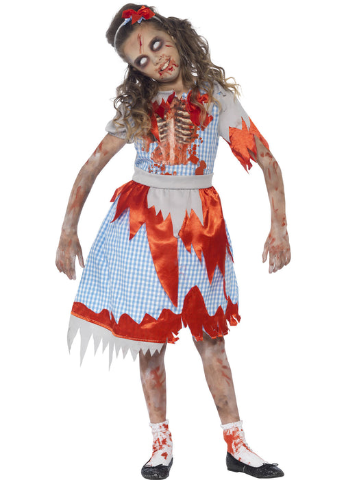 Zombie Country Girl Costume Child